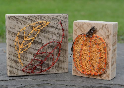 Fall Nail and String Art Take & Make
