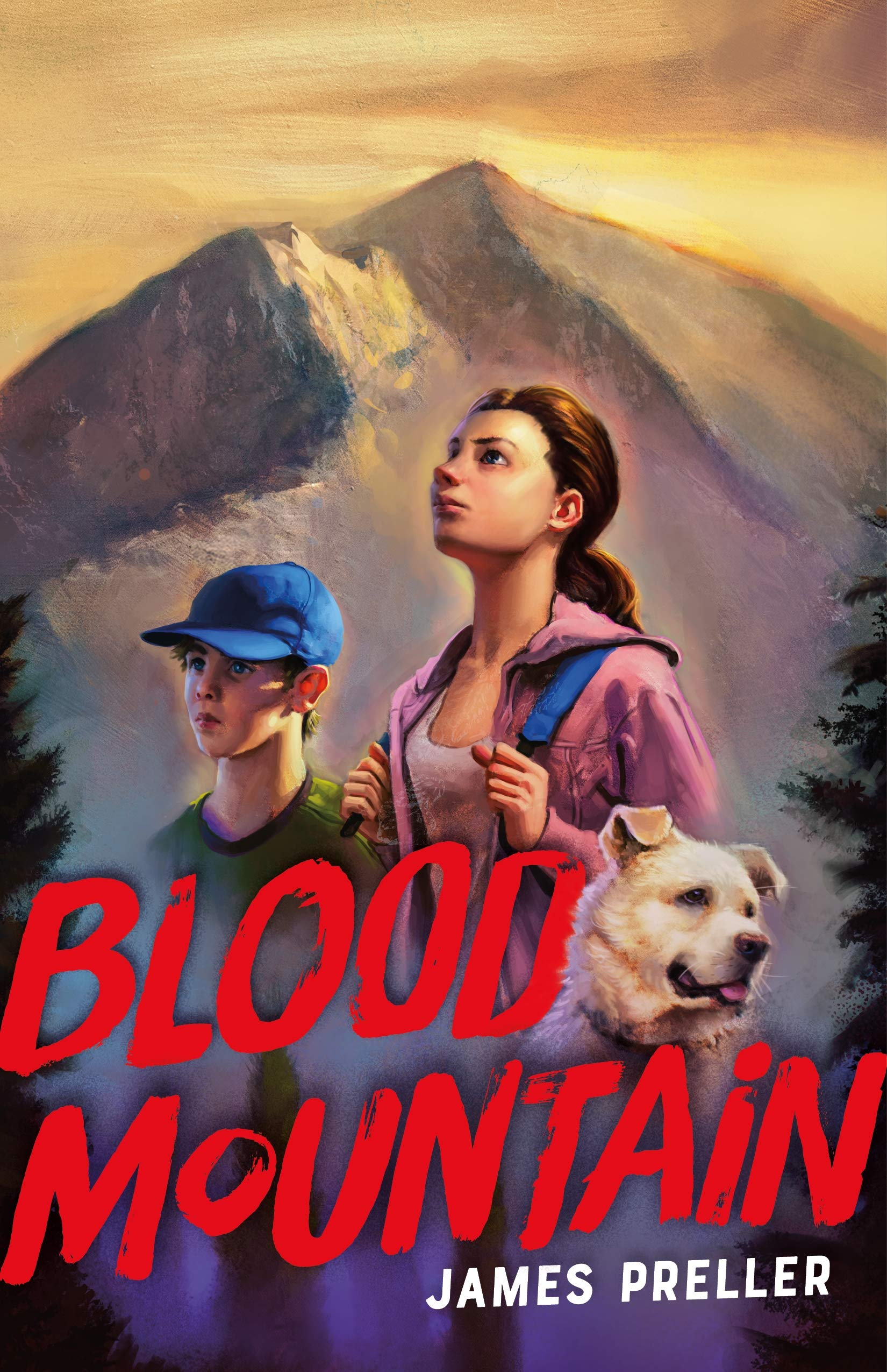 Blood Mountain by Janes Preller