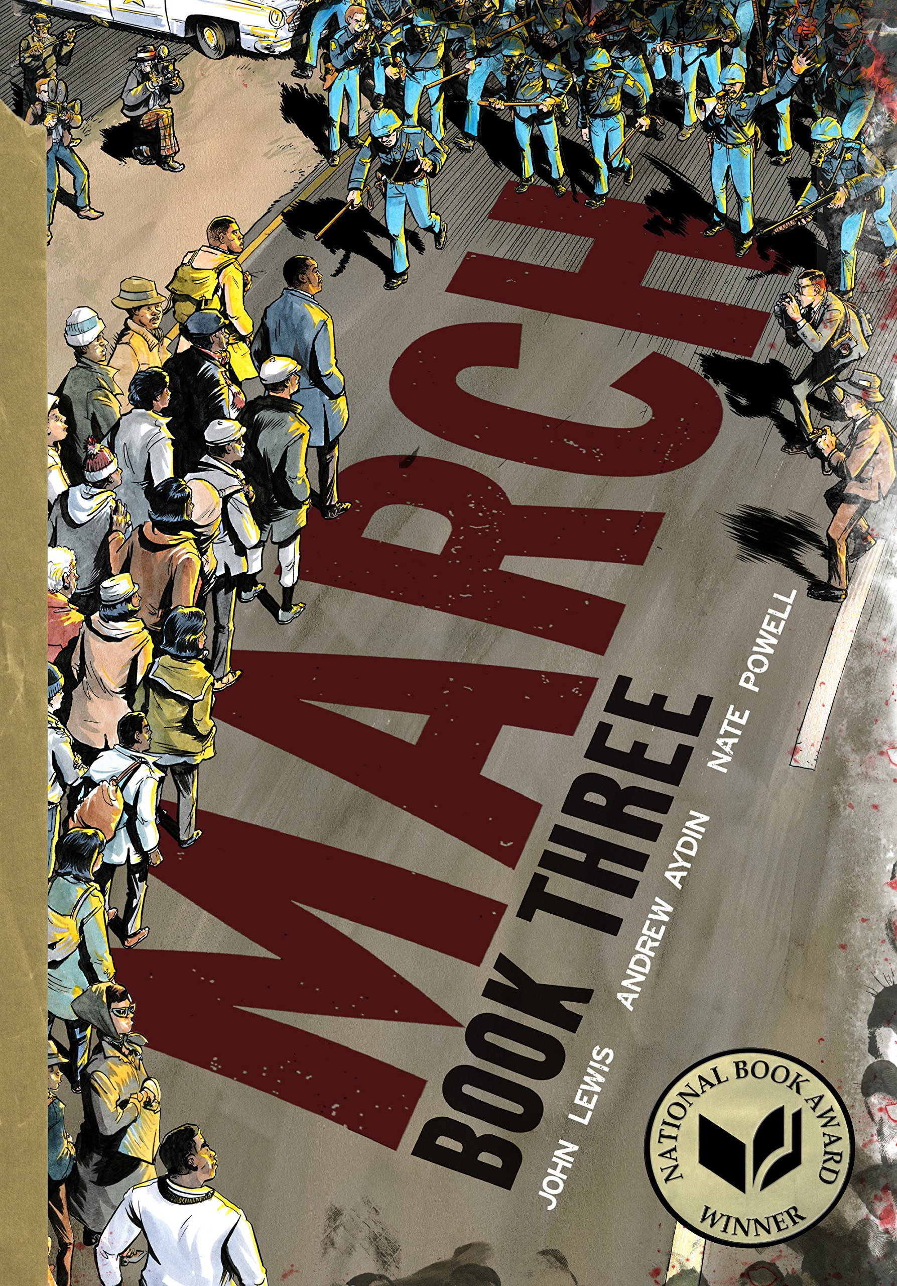 March Book Three by John Lewis